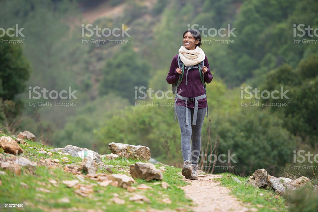 Active vacations outdoor. stock photo