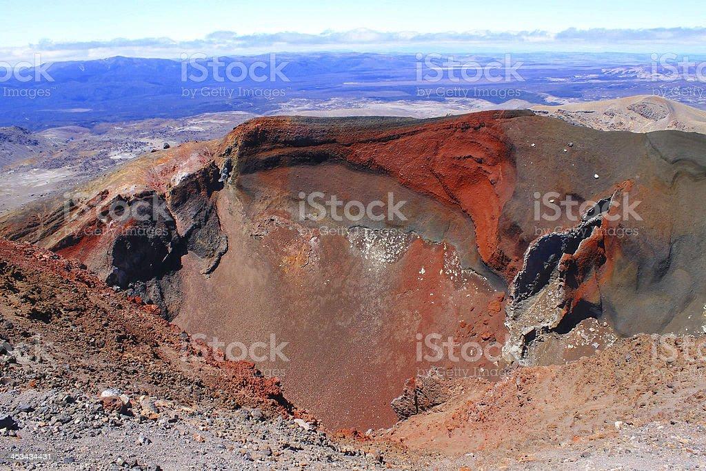 Active Volcano stock photo