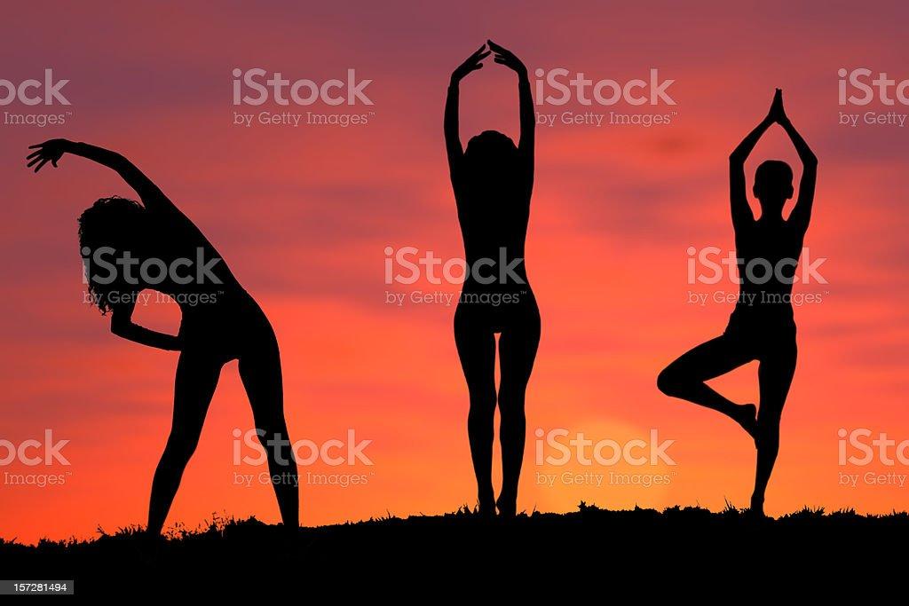 Active - Yoga 5 royalty-free stock photo