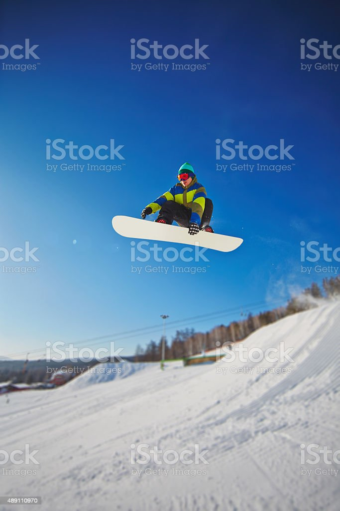 Active young man stock photo