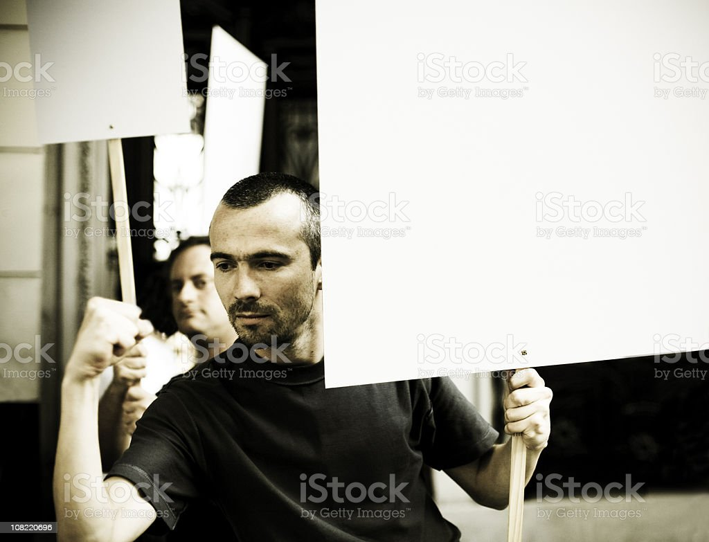 Activists stock photo