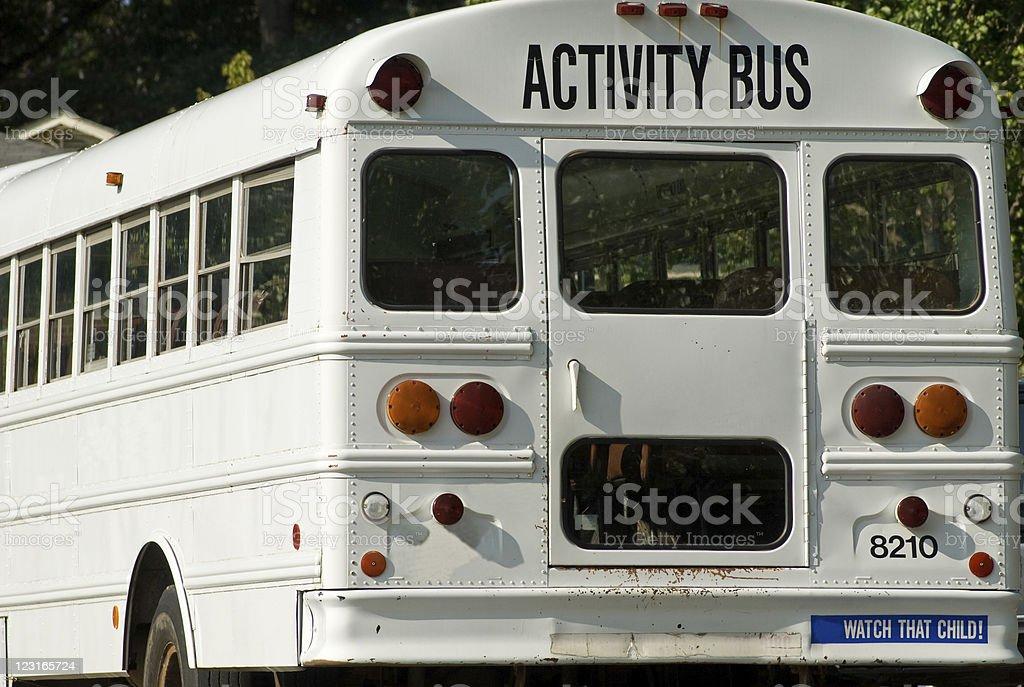 Activity Bus stock photo