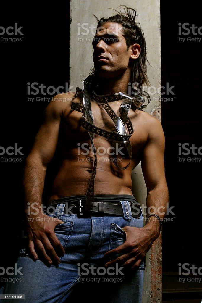 Actor dreams royalty-free stock photo