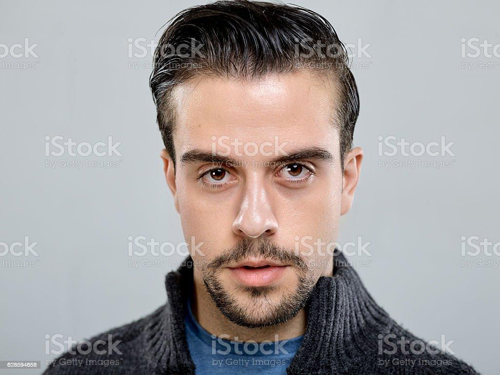 actor headshot stock photo