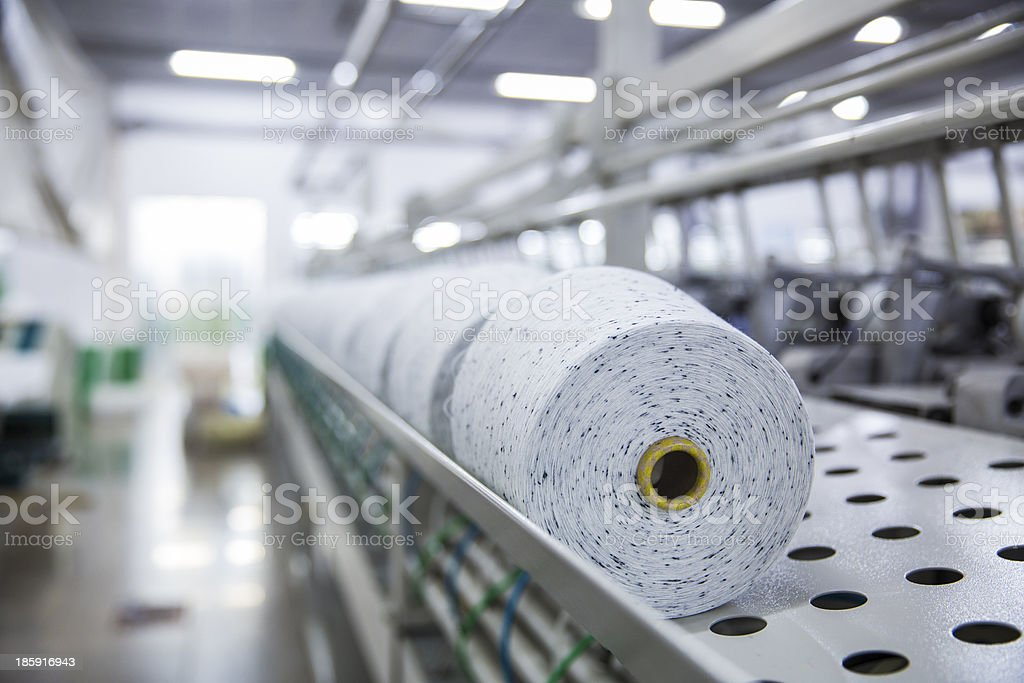 actory, textile mill stock photo
