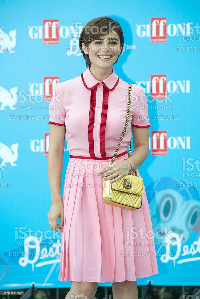 Actress Greta Scarano stock photo