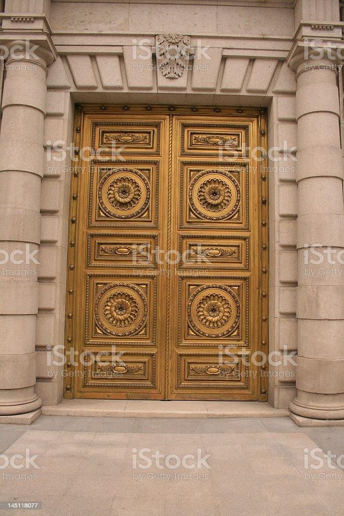 Real golden gate - foto de stock
