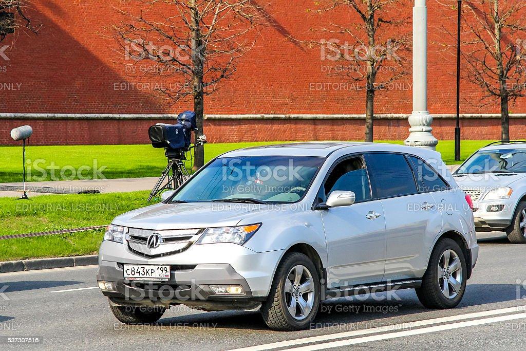 Acura MDX stock photo