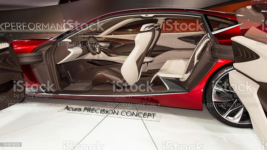 Acura Precision Concept stock photo
