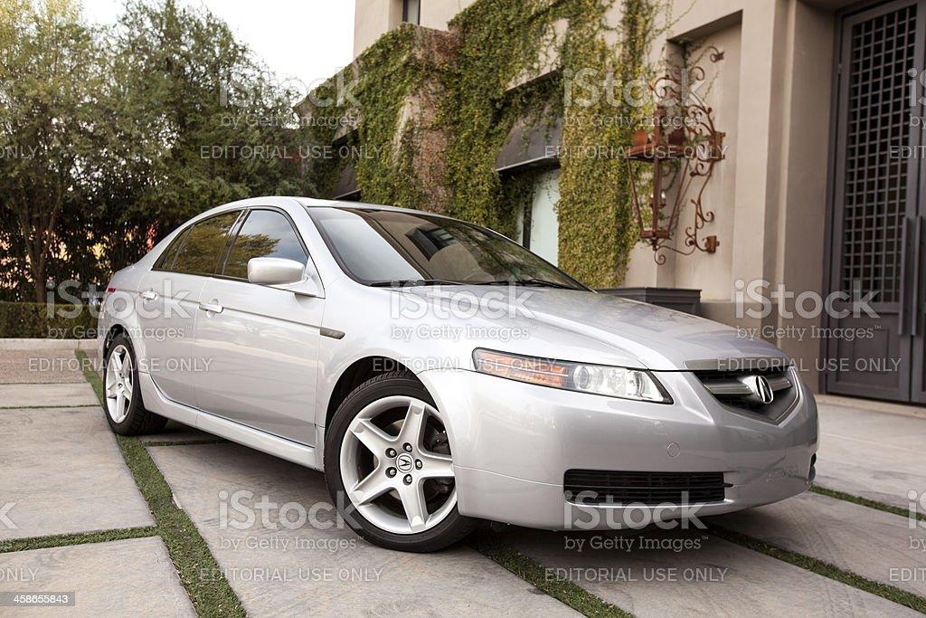 Acura Tl 2005 stock photo