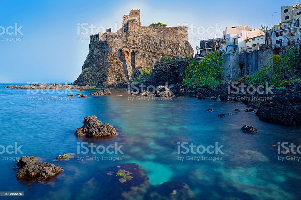 Acicastello stock photo