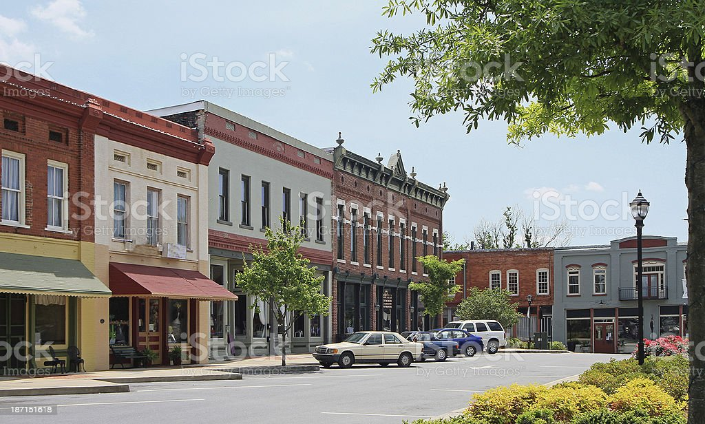 Adairsville Georgia stock photo