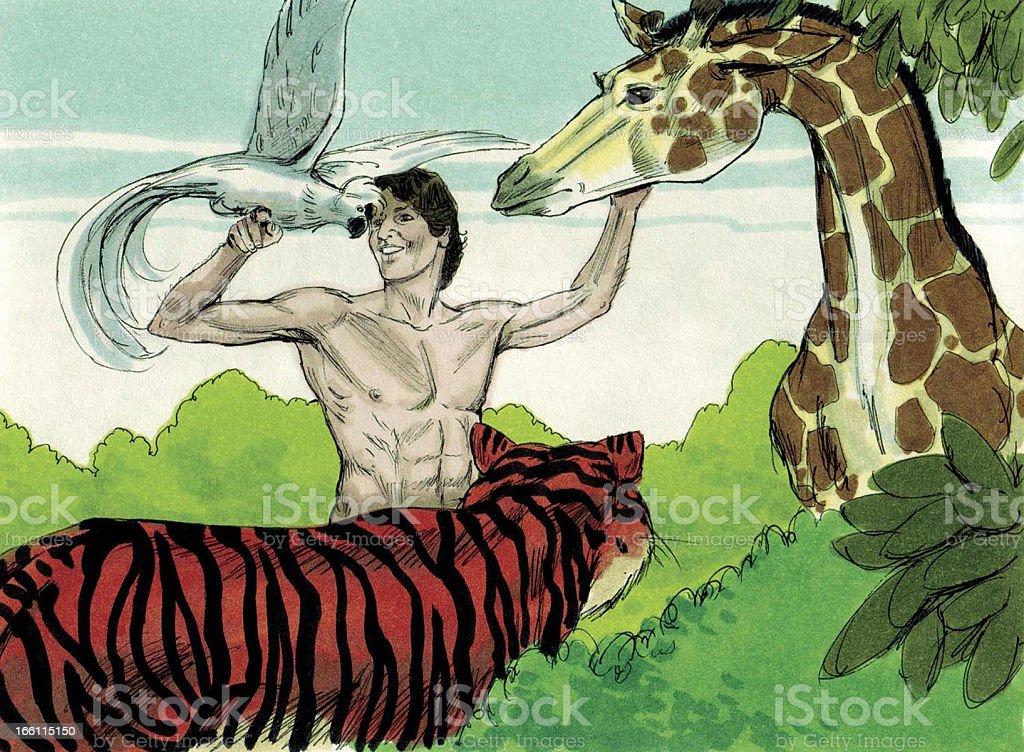 Adam and the Animals stock photo