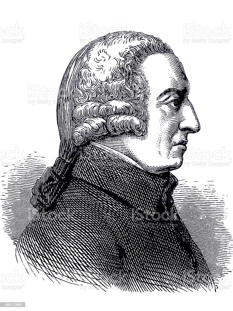 Adam Smith royalty-free stock photo