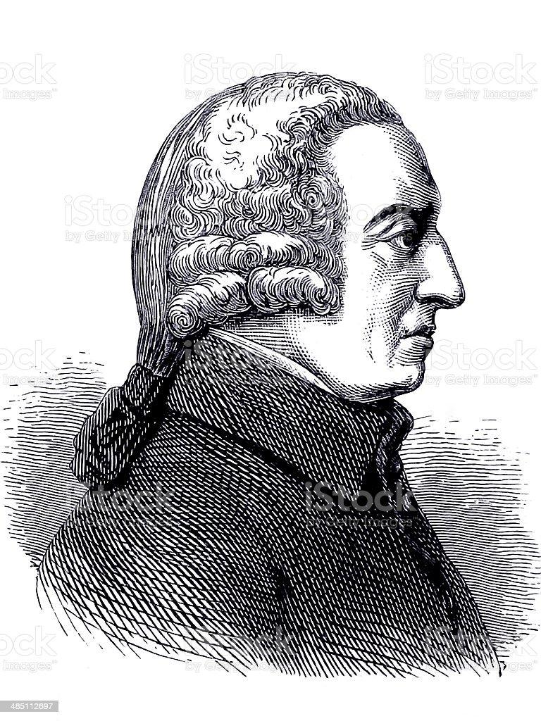 Adam Smith stock photo
