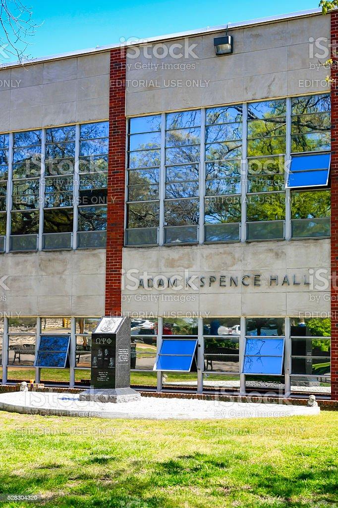 Adam Spencer Hall on Fisk University campus in Nashville TN stock photo