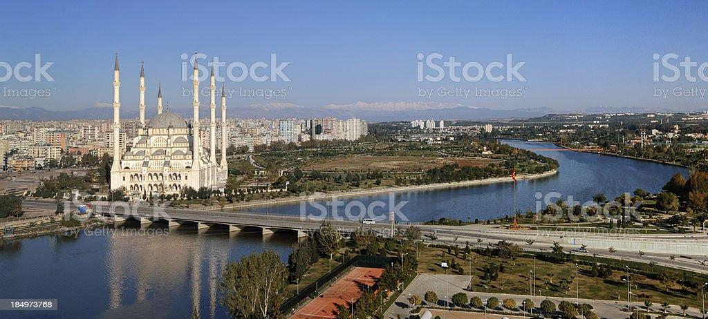 Adana City in Turkey stock photo
