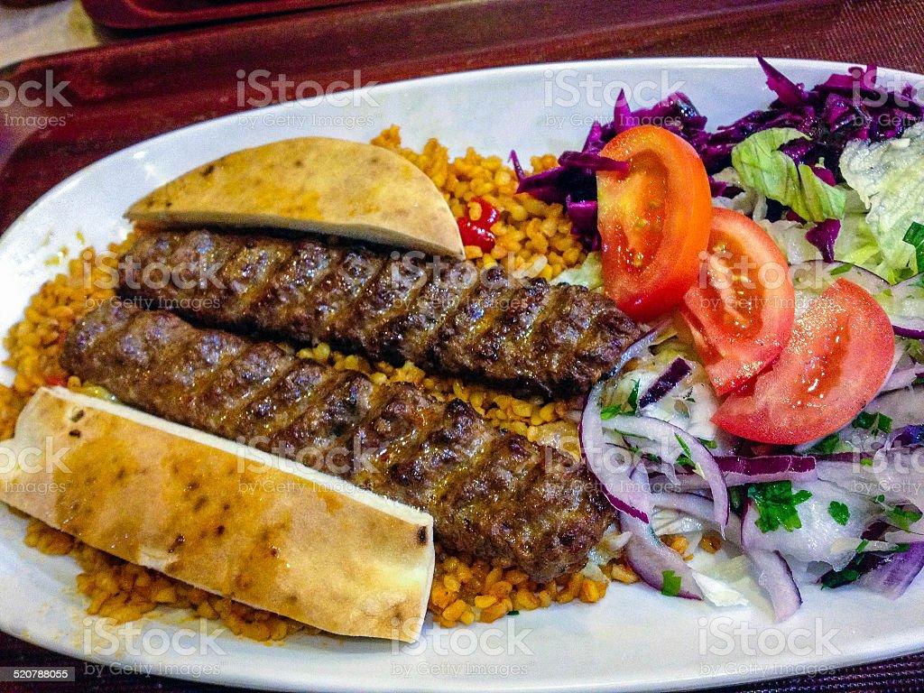 Adana Kebab stock photo
