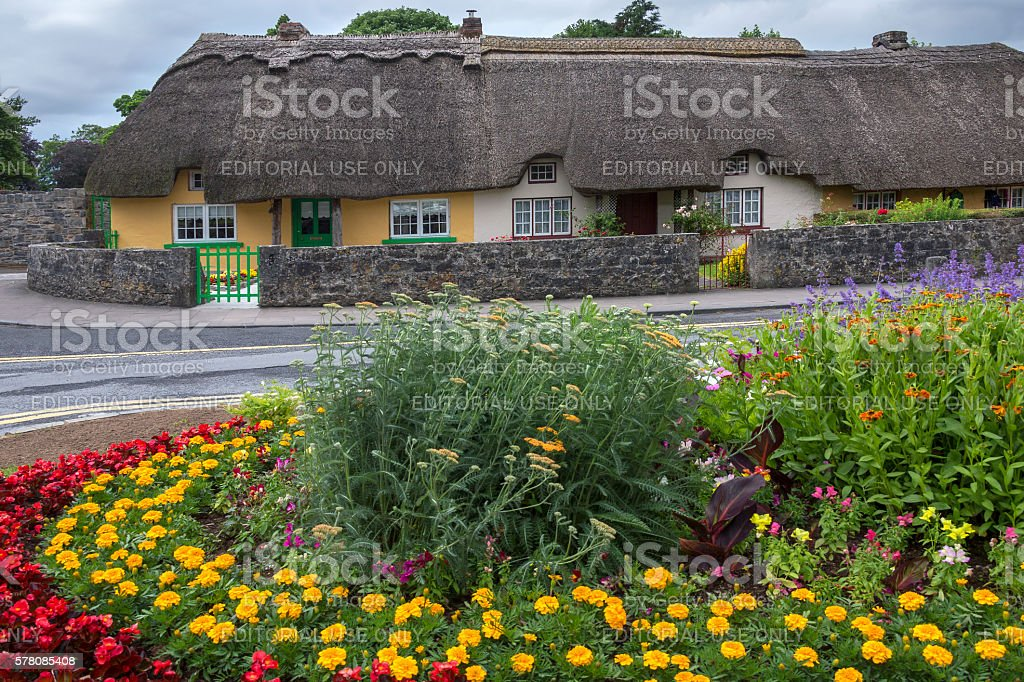 Adare Village - County Limerick - Ireland stock photo