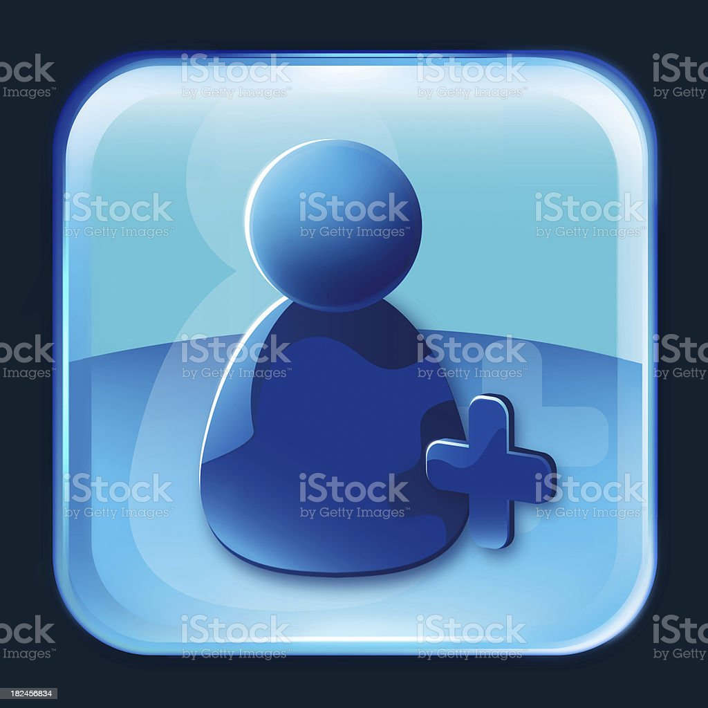 add buddy symbol icon royalty-free stock photo