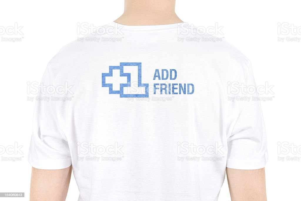 Add Friend Concept royalty-free stock photo