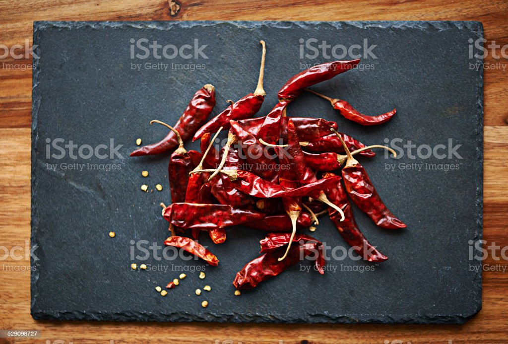 Add some fire to your food stock photo