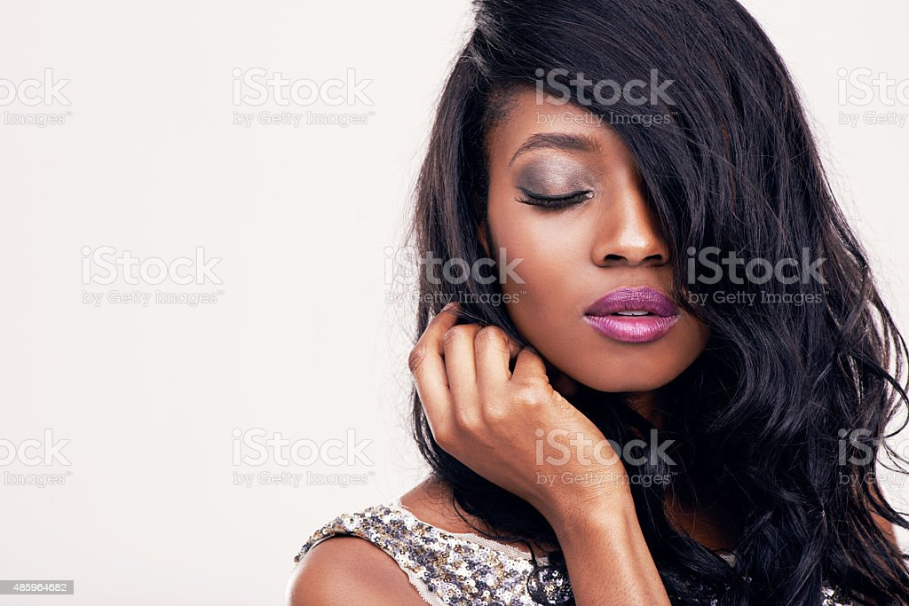 Add some glamor to every day stock photo