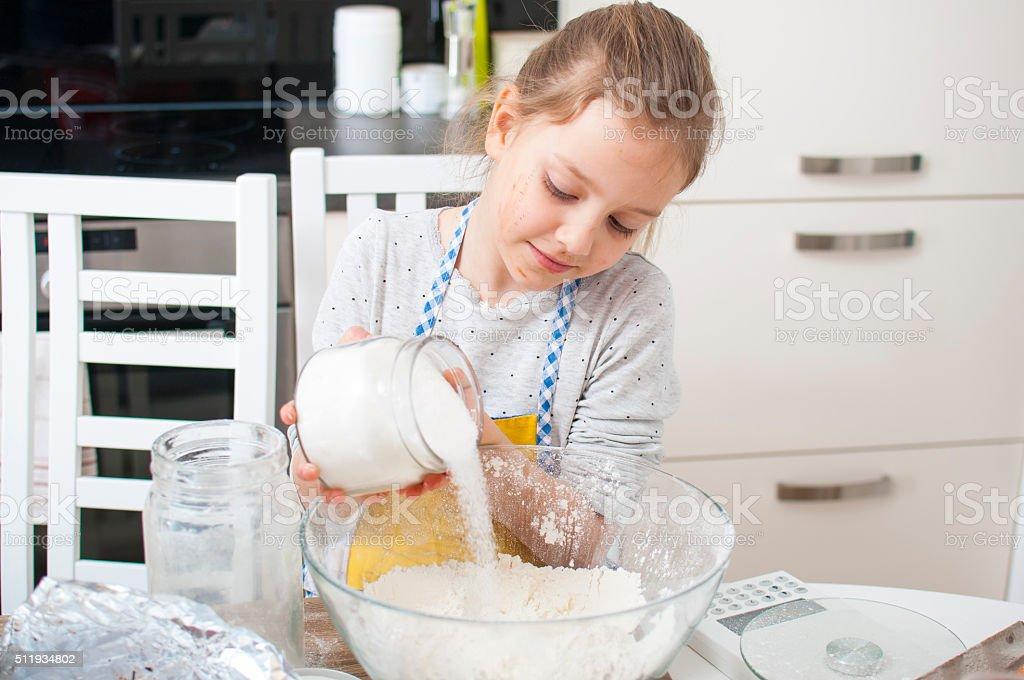 Add some sugar stock photo