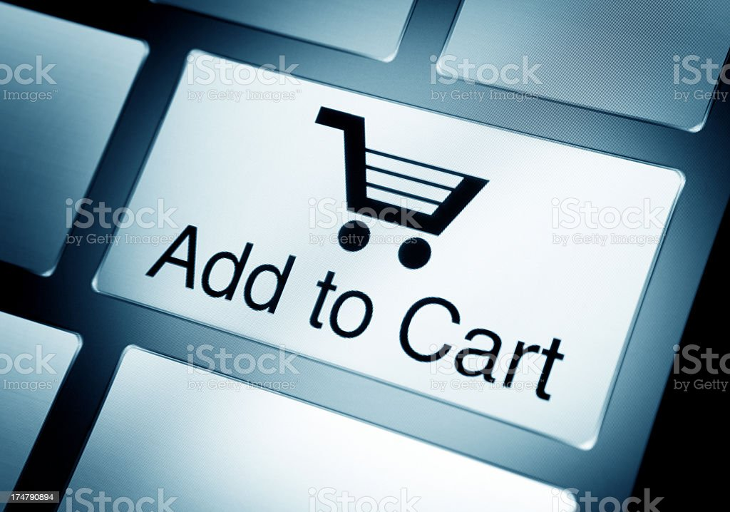 Add to Cart stock photo