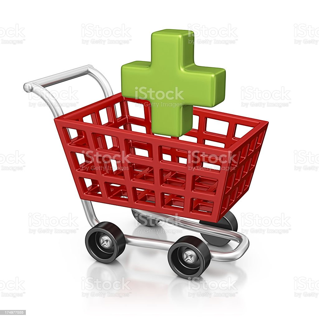 add to cart royalty-free stock photo