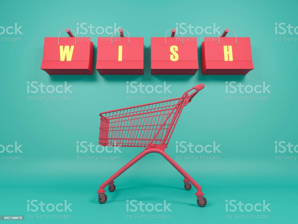 Add to Wishlist stock photo