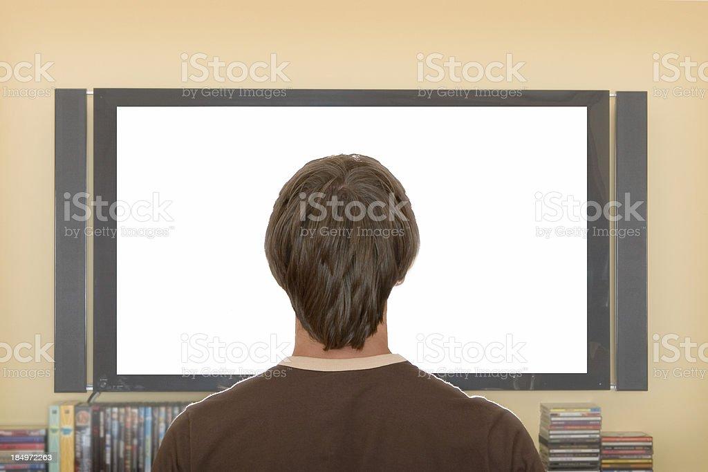 TV Addict royalty-free stock photo