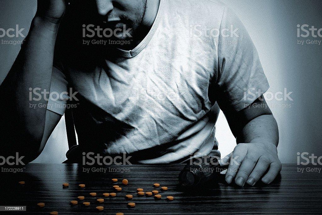 Addiction royalty-free stock photo