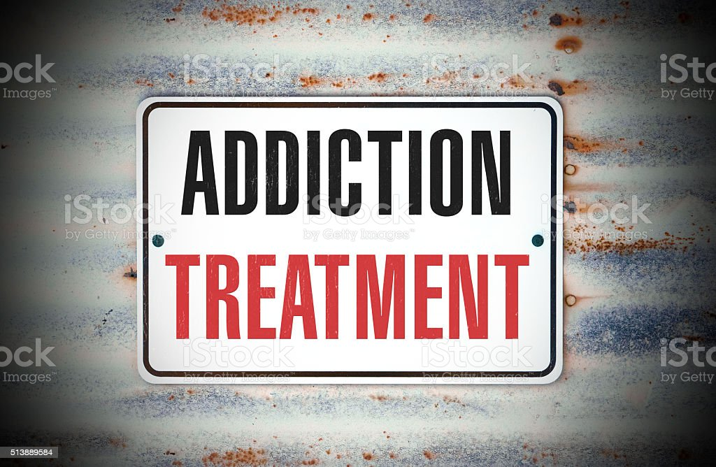 Addiction Treatment stock photo