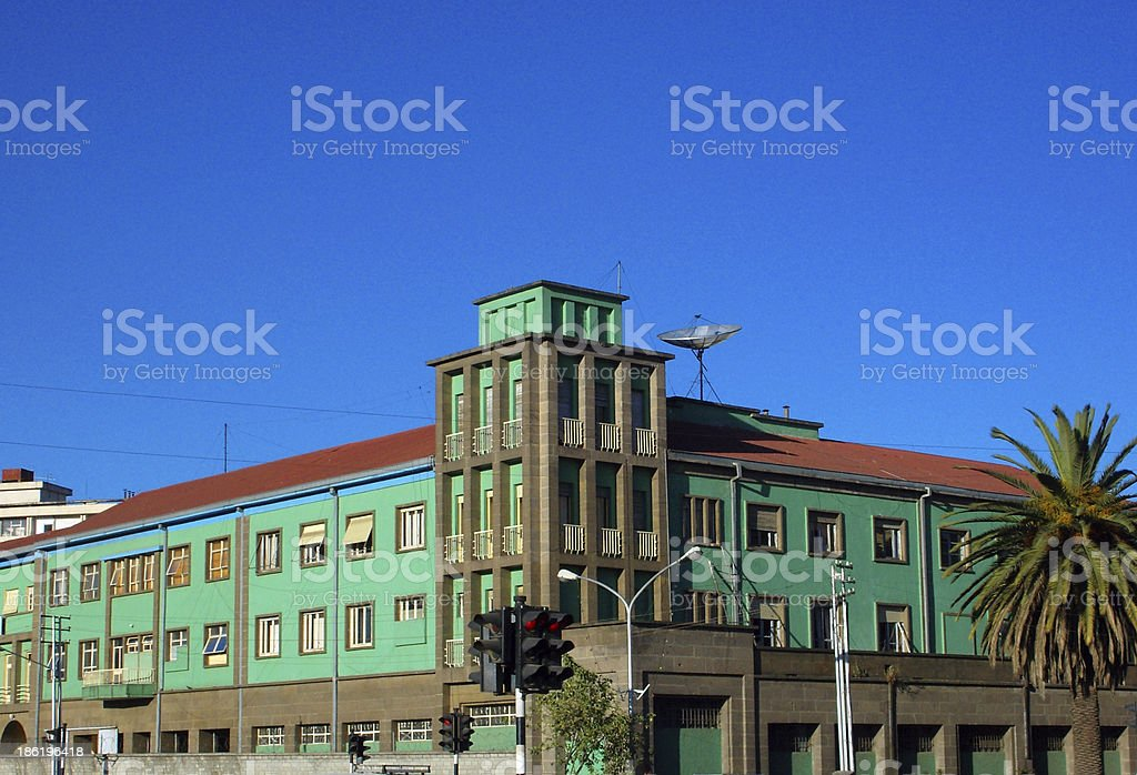 Addis Ababa, Ethiopia: Ministry of Defence royalty-free stock photo