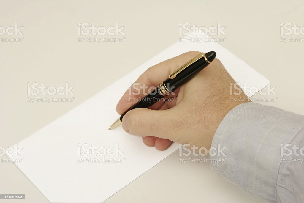 Addressing Envelope 2 royalty-free stock photo