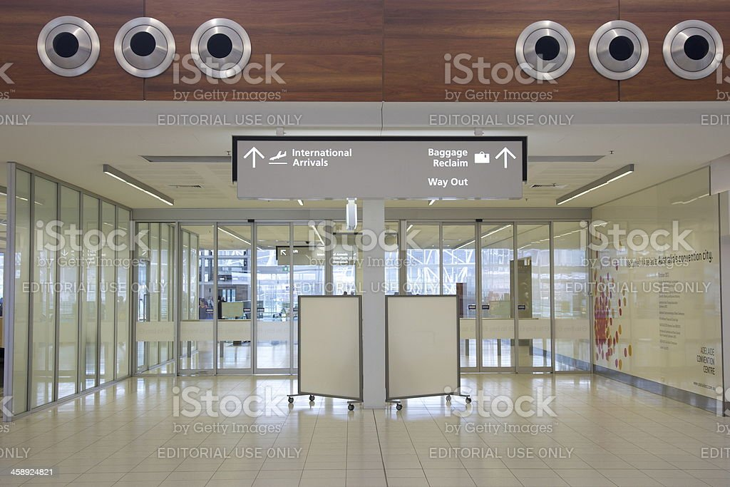 Adelaide Airport royalty-free stock photo
