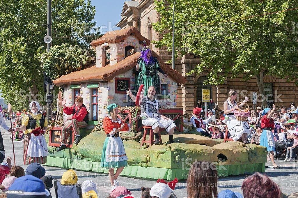 2012 Adelaide Christmas Pagaent stock photo