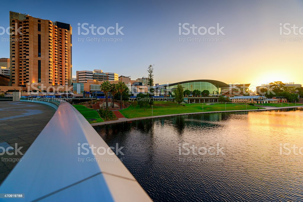 Adelaide City, Australia stock photo