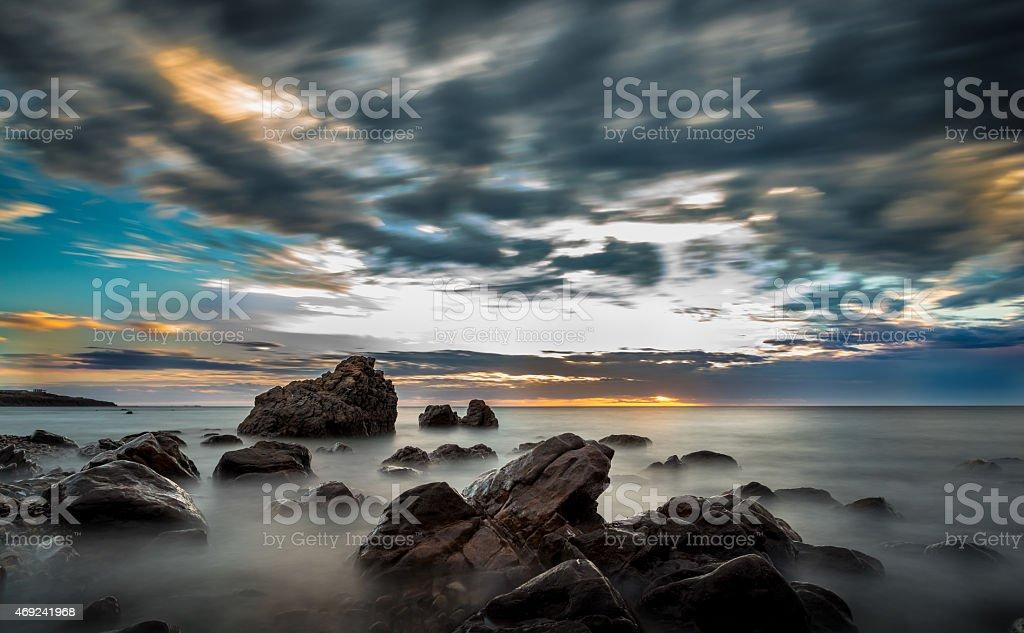 Adelaide coastline stock photo