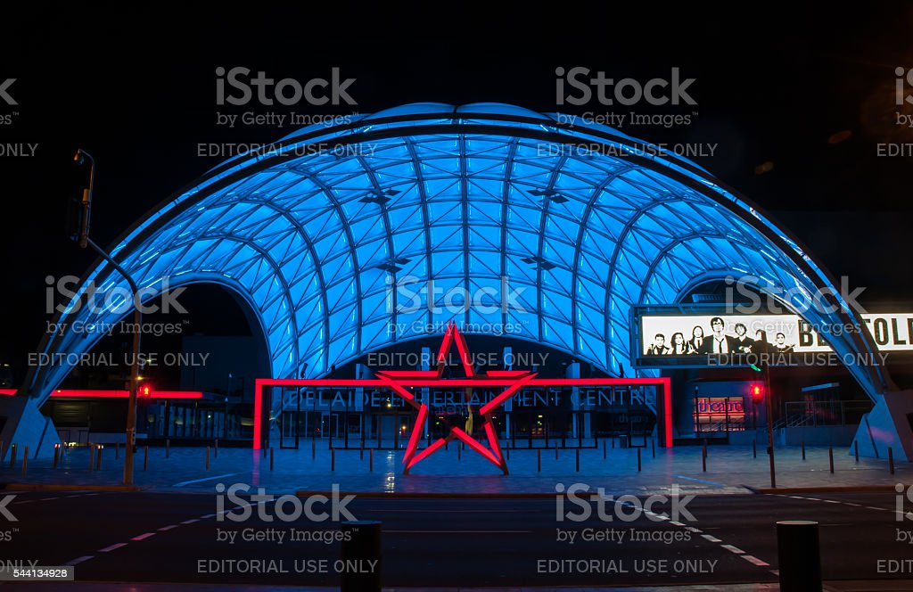 Adelaide Entertainment Centre stock photo