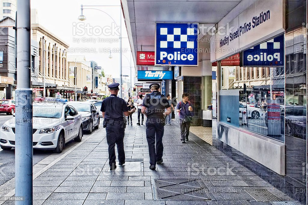 Adelaide Police stock photo