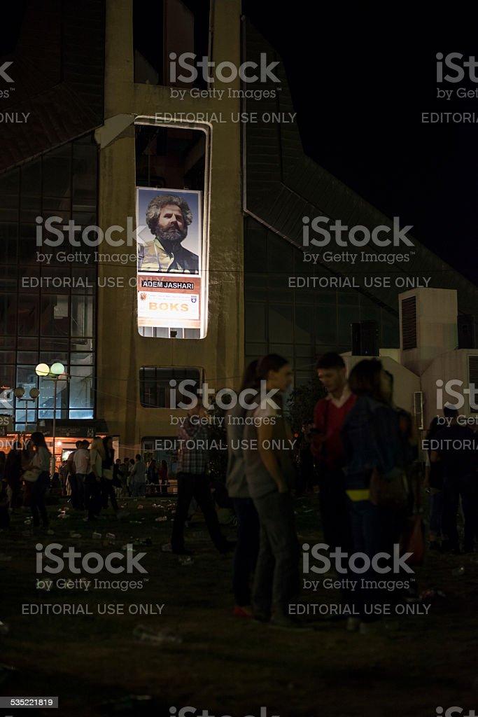 Adem Jashari remembered in Kosovo stock photo