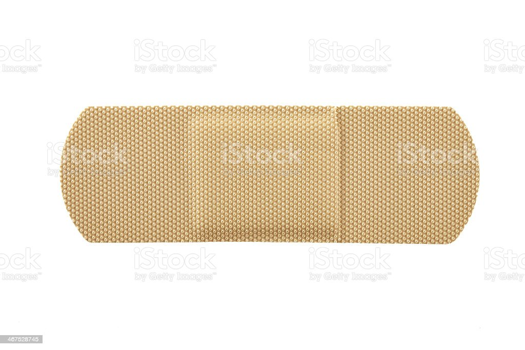 Adhesive bandage stock photo