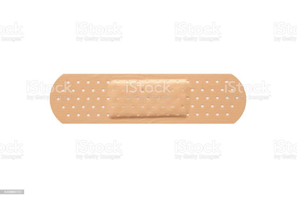 Adhesive bandage plaster stock photo