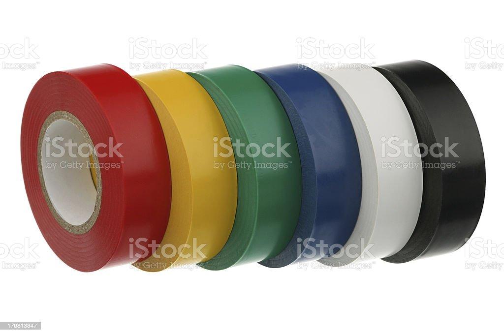 Adhesive insulating tape royalty-free stock photo