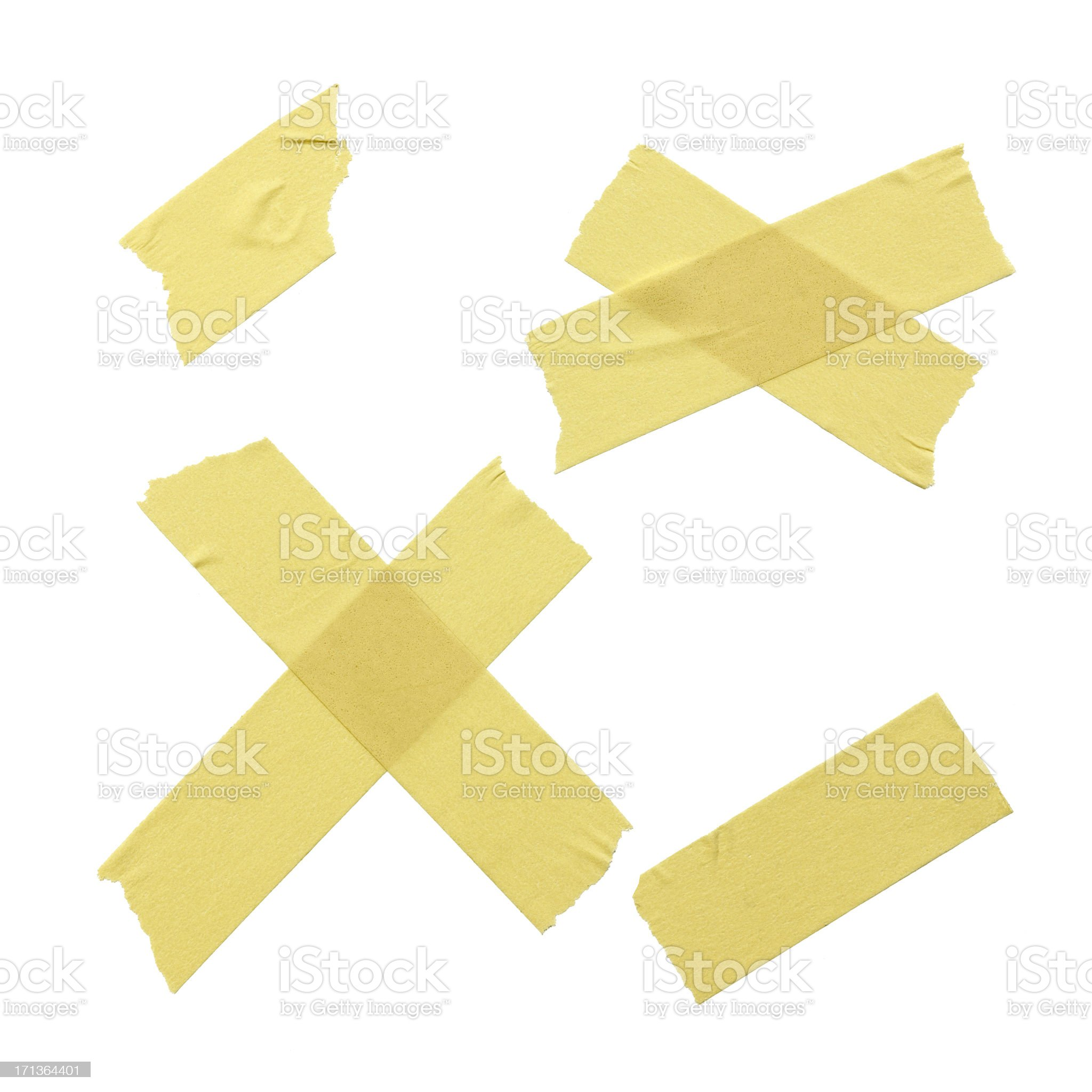 Adhesive Masking Tape royalty-free stock photo