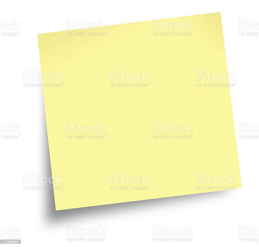 adhesive note royalty-free stock photo