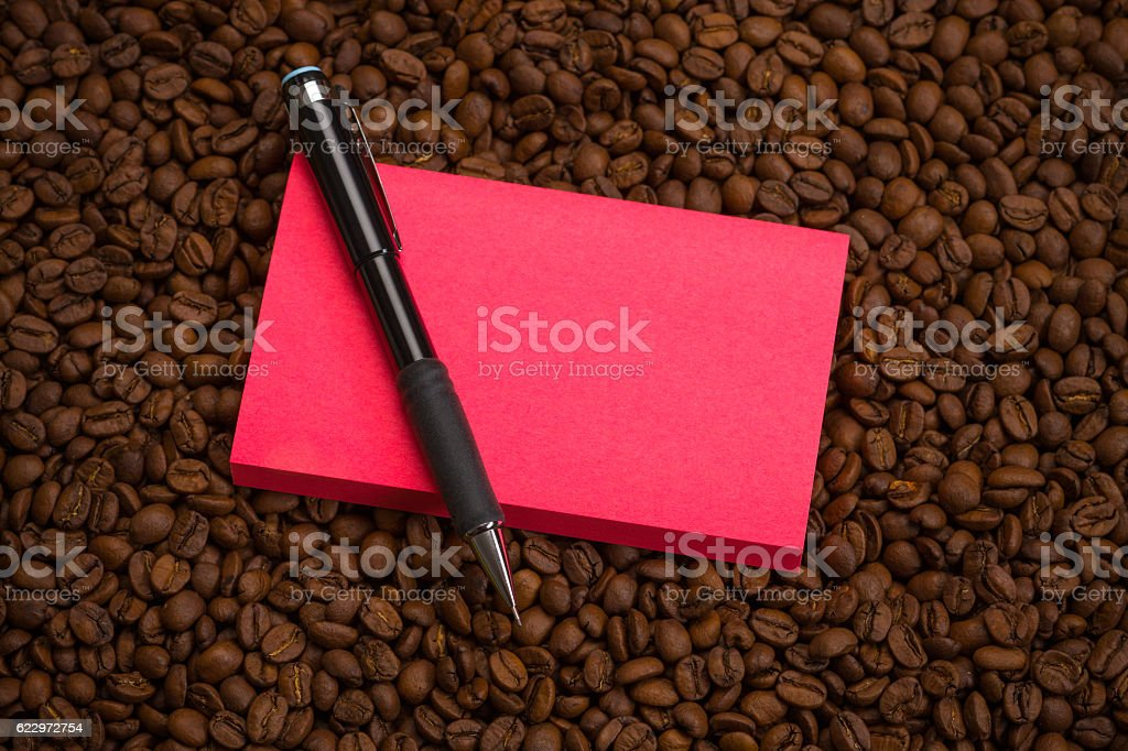 Adhesive Note stock photo