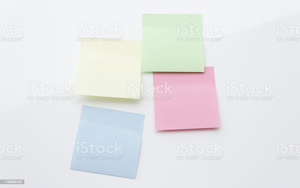 Adhesive Notes royalty-free stock photo